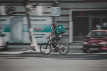 با دوچرخه ات پول دربیار